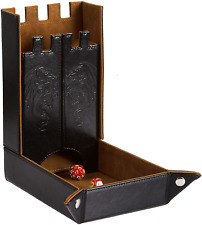 Forged Dice Co. Draco Castle Foldable Dice Tray and Dice Tower - Foldable DND Di
