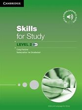 Skills for Study Level 2 Student's Book with Downloadable Audio, , Very Good con