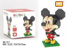 Disney Mickey Mouse LNO BLOCK Micro Mini Building Nano Block LOZ Iblock Toy Gift