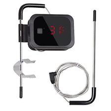 Ibt-2x Inalámbrico Bluetooth barbacoa Termómetro Temporizador De Barbacoa + doble sonda de acero