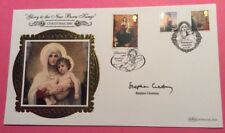 6.11.2007 Natale Madonna & Child-firmato REV Stephen cleobury-KINGS-BENHAM FDC