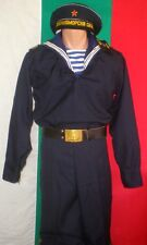 Bulgarian Communist Army Marine SAILOR Parade NAVY UNIFORM