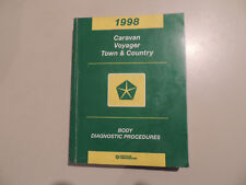 Diagnostic manual Werkstatthandbuch Town & Country Caravan Voyager 1998