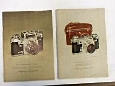 1953 and 1954 Montgomery Ward Camera Book Catalog - Vtg Photography Advertising