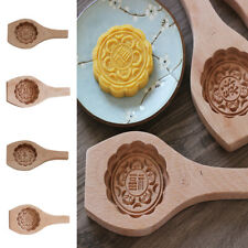 Baking Mold Mooncake Chinese Word Pattern Moldle With Blessing Meaning -Lucky