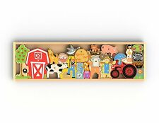 BeginAgain Farm A To Z Puzzle 36mo+ Best Educational Puzzle for 4-5 year old
