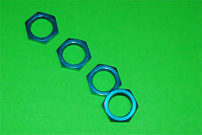 Aluminum ALLOY 24mm HEX WHEEL NUTS(4) HPI BAJA 5B,5T,5SC Blue