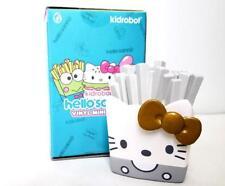 """Kidrobot Hello Sanrio 3"""" Vinyl Figure - Hello Kitty French Fries Silver Gold"""