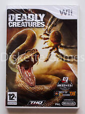 Nintendo Wii PAL version Deadly Creatures