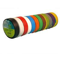 AT7 PVC-Elektro-Isolierband 19mm x 33m Klebeband Markierung Selbstverlöschend