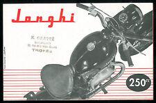 Brochure JONGHI 250 H 54 T- 125 E - 125 ACT type D Catalogue Prospectus Dépliant