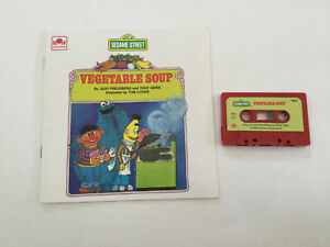 Sesame Street Vegetable Soup Booklet & Cassette