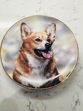 "Danbury Mint Collector Plate-Corgi-""Faithfu l Friend"" A3757 By Rick Garland!"