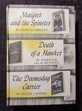 1975 Detective Book Club HC Simeon / Canning / Van De Wetering VG/FN 5.0