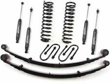 "1984-2001 3"" Jeep Cherokee XJ Full Suspension Lift Kit Zone w/Rear Leaf Springs"