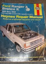 Repair Manual Haynes 36070 Ford Ranger & Bronco II 1983 thru 1992            501
