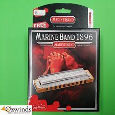 Hohner Marine Band Classic Harmonica  -  B Natural Minor