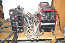 MIG/MAG + WIG + MF + Elektroden Schweißgerät Lincoln Invertec V300-I + LN 27
