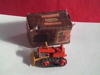 BENBROS QUALITOY TV SERIES NO.10 OPERATING BULLDOZER IN BOX