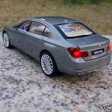 BMW 760 LI 1:34 Alloy Diecast Model Cars Toy Car Kids Gifts Sound & Light Gray