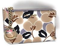 NWT Kate Spade New York Medium L-Zip Card Case Holder