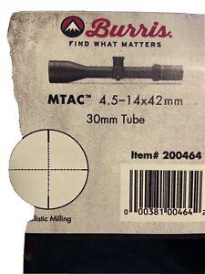 Burris MTAC 200464 Rifle Scope