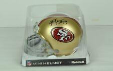 "NFL San Francisco 49ers NaVarro Bowman #53 7"" x 5"" Autographed Mini Helmet"
