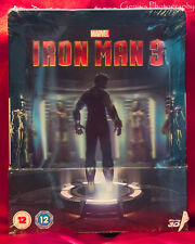 Iron Man 3 - Zavvi Limited Edition Lenticular Steelbook Blu-ray NEW Sold Out