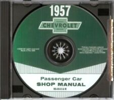 CHEVROLET 1957 Bel Air, 150, 210 & Nomad Shop Manual CD