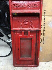 Royal Mail post box front. Original -