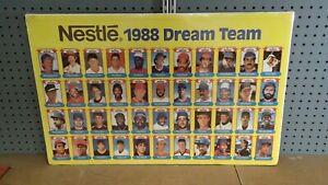 1988 Nestle Sogno Team Uncut Foglio Set Di 44 Carte Mcgwire Moneta Ryan
