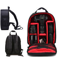 Waterproof DSLR SLR Camera Soft CaseBag Backpack Rucksack For Canon Nikon SoX RU