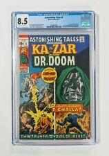 🔥 Astonishing Tales #6 (1971) CGC 8.5 1st Barbara Morse (Mockingbird) Dr. Doom!