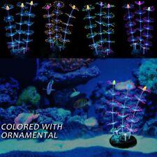 Fluorescent Aquarium Coral Plant Decoration Water Aquatic Fish  Tank  Pet