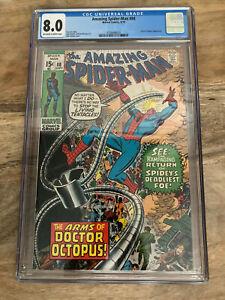 Amazing Spider-Man #88 CGC 8.0 (Marvel 1970)