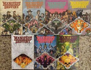 Manifest Destiny TPB graphic novel lot #1-7 COMPLETE SET - Image Comics OOP