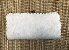 Calfskin Hide Wallet Vintage Italy Stunning New Condition