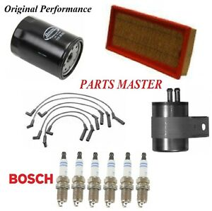 Tune Up Kit Air Oil Fuel Filters Spark plugs For CHRYSLER IMPERIAL V6; 3.3L 1990