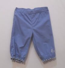 "Gymboree ""Porcelain Doll"" Periwinkle Blue Baby Doll Ruffle Pants, 12-18 mos."