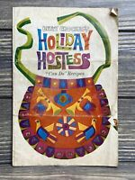 Vintage Betty Crocker's Holiday Hostess Can Do Recipes Booklet Pamphlet