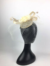 Women's Fashion Fascinators Spring Races Melbourne Cup Wedding Sinamay Flower