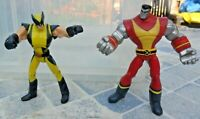 """Marvel Action Figure 3.75"""" - X-Men Animated Series - Wolverine & Colossus"""