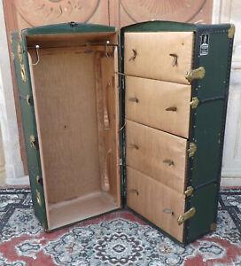 Baule cassa guardaroba armadio da viaggio '900 appendiabiti Columbus SA Perugia