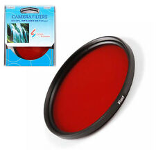 77mm Full Red Filter in Original Manufactory Box for Nikon Sony DSLR Camera Lens