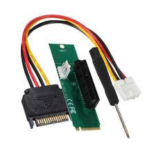 Q22 NGFF M.2 M Schlüssel Stecker auf 4X PCI-E Buchse Adapter Netzkabel Konverter