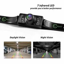 Waterproof Car Rear View Backup Reverse Parking Camera 7led Night Vision
