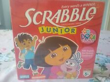 Dora the Explorer Scrabble Junior Game English Spanish