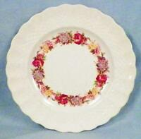 Copeland Spode Rose Briar Bread & Butter Plate Chelsea Wicker Floral 2/7896 2