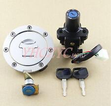 Motorcycle Ignition Switch Lock Gas Cap Set Lock Key for Honda CBF1000 2006-2010