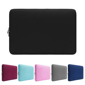 Laptop Sleeve Case Carrying Bag Notebook Cover Pouch For MacBook HP Dell Lenovo